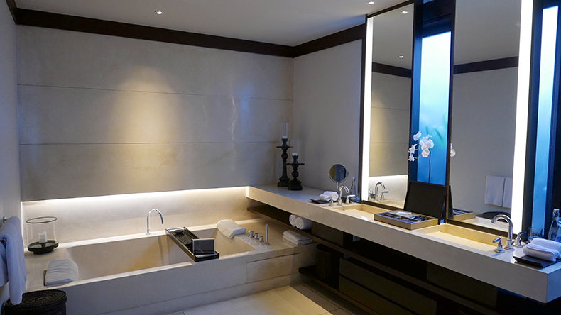 Euriental | fashion & luxury travel | Alila Soori, villa bathroom, Bali