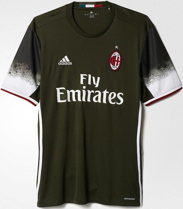 5c34d4eb9b Adidas lançam nova terceira camisa do Milan - Show de Camisas