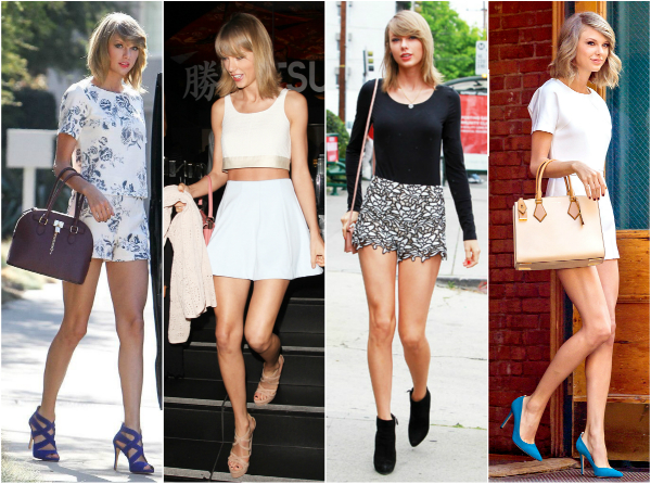 0f04d1ad1c8f Knots and Ruffles  Get the Style  Taylor Swift Summer Street Style 2015