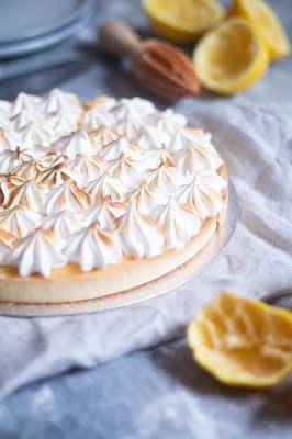 Recette de la tarte au citron meringuée
