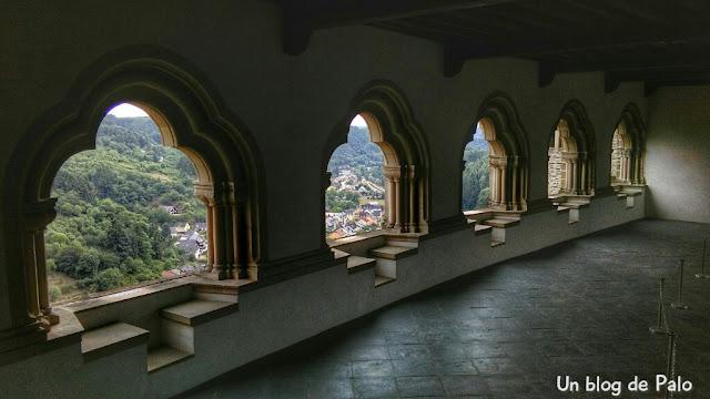 Vistas desde el interior del Castillo de Vianden