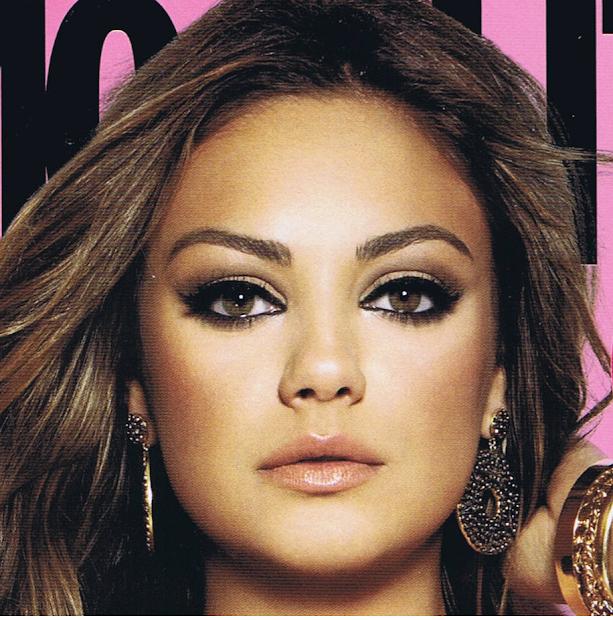 Eye Makeup Addicts Eotd Mila Kunis Cosmopolitan 2011 Cover