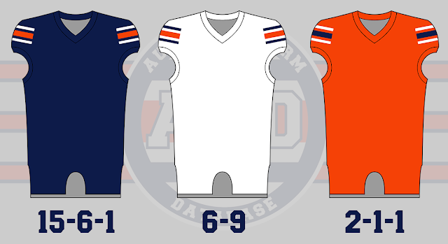 auburn bowl game uniform history
