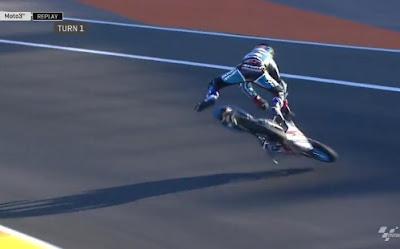 Kecelakaan Parah Moto3 di Pembuka GP Valencia