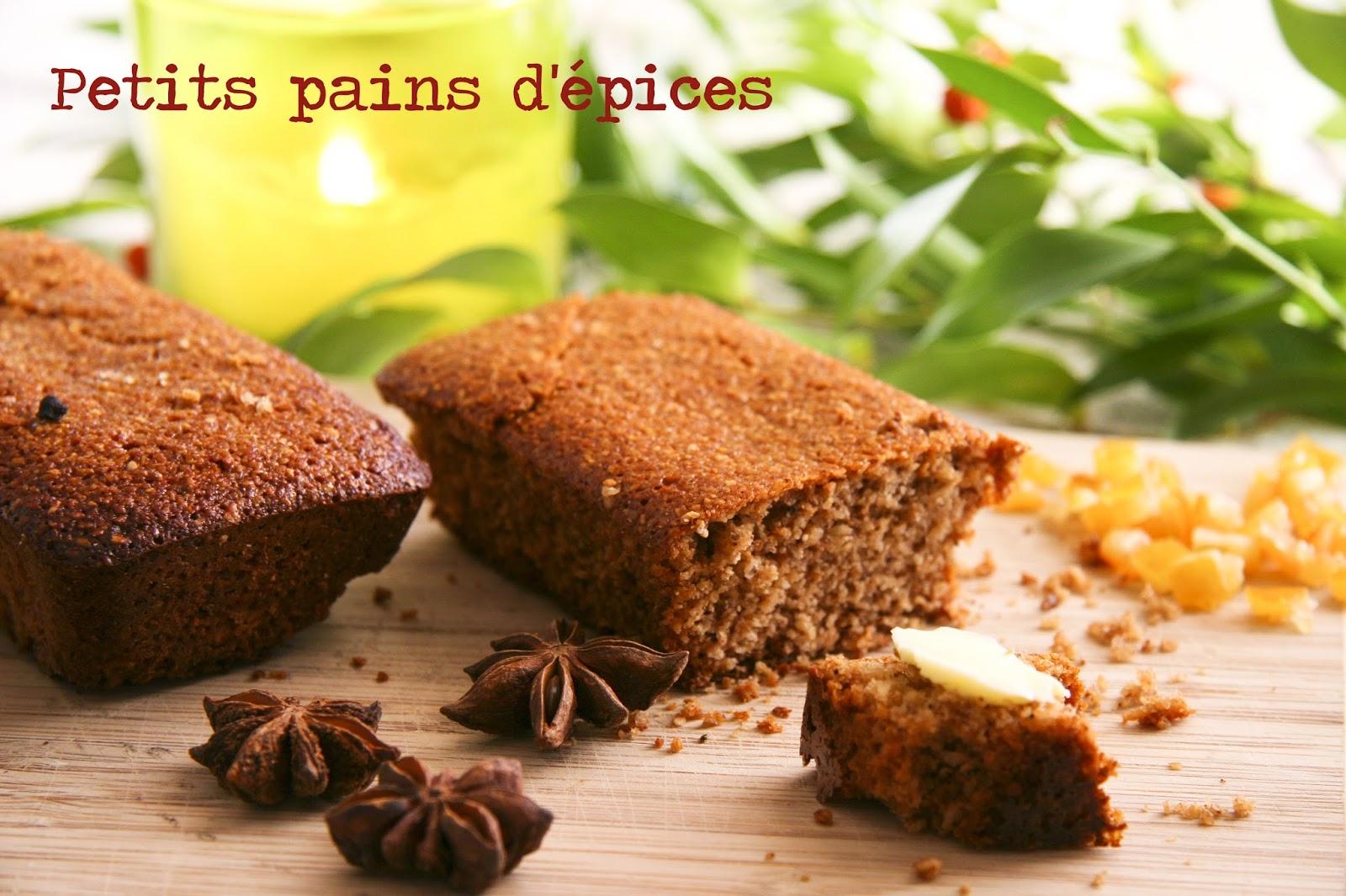 Petits pains d 39 pices - Pain d epice sans gluten ...