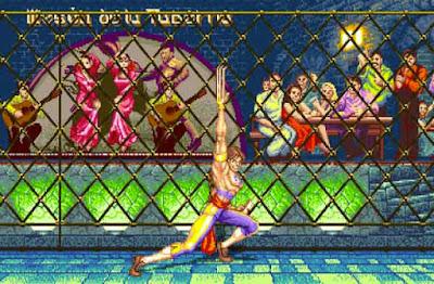Vega nel suo stage di ''Street Fighter II''