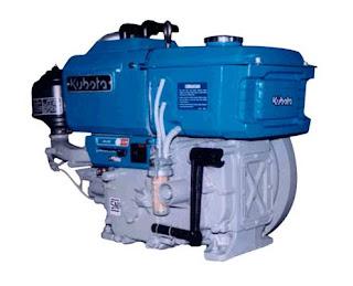 Daftar Harga Mesin Diesel Kubota Semua Tipe Terbaru