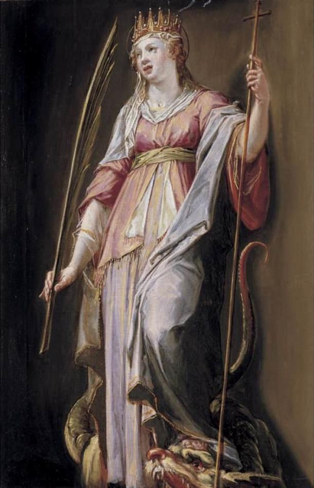 ad imaginem dei saint margaret of antioch dragon slayer