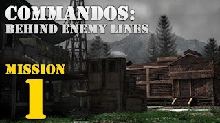 COMMANDOS: Behind Enemy Lines (PC) Mission 1