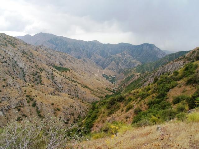 Квест Водопад, Гусгарф, Варзобское ущелье, горы Таджикистана - фото-обзор похода
