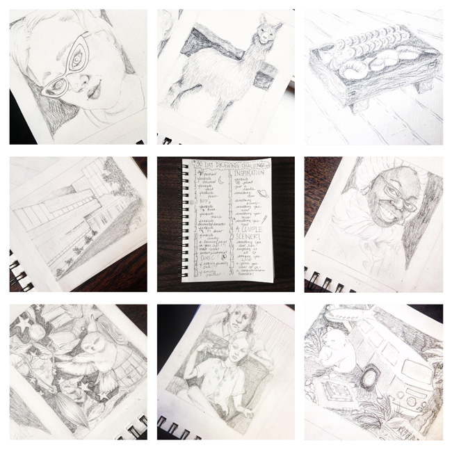 Sketchbook Round-Up: Volume 21 | Yeti Crafts