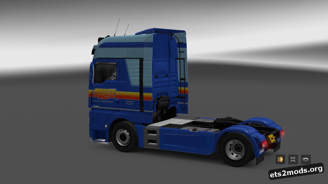L. van Tiel Transport Skin for MAN Euro 6