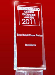 anugerah instaforex malaysia - the best retail broker 2011