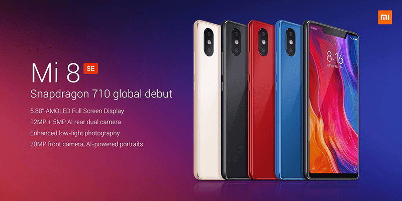 Xiaomi Mi 8 SE with Snapdragon 710 processor announced!
