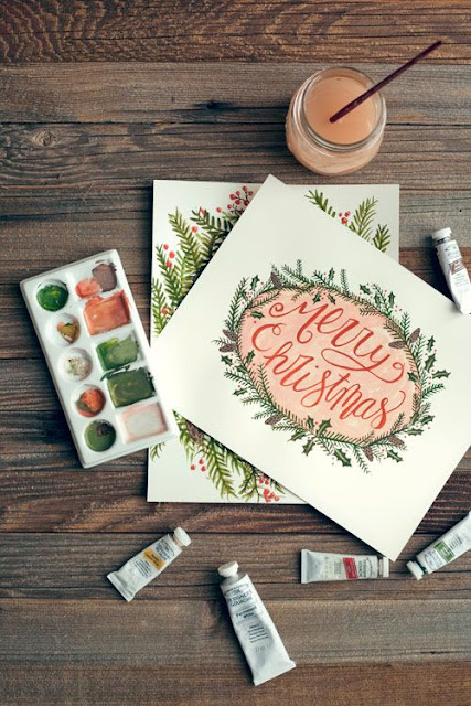 Lettering Time 20 Maravillosas Tarjetas De Navidad Para