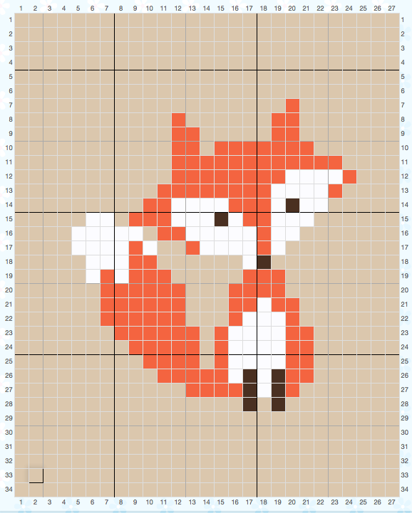 Hand made crochet fox pillow. You can order it in small or big ...   721x578
