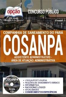 Apostila Concurso Cosanpa 2017 Assistente Administrativo