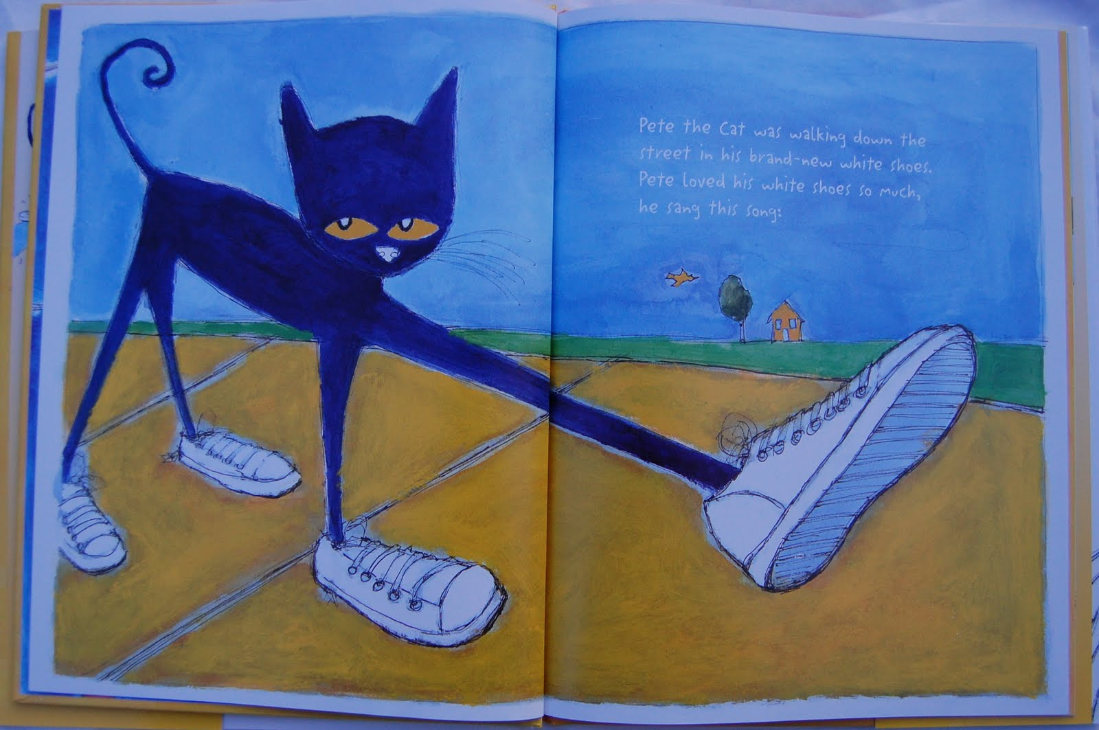 Pete The Cat I Love My White Shoes Bucket