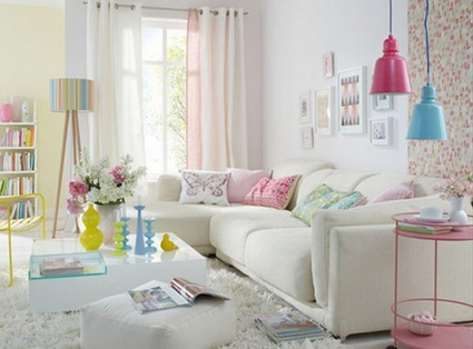 Rooms In Pastel Colors - Very Satisfying Eyes Decoration 6