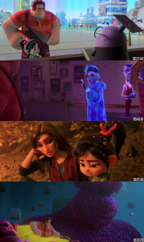 Ralph Breaks the Internet 2018 BluRay 720p 480p Dual Audio Hindi English Full Movie Download