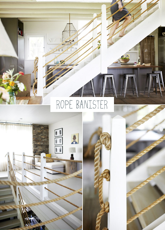Rope Banister Staircase My Paradissi