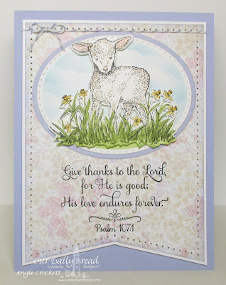 Our Daily Bread Designs Stamp Sets: Many Thanks, The Shepherd, Our Daily Bread Designs Paper Collection: Easter Card 2016LittleOur Daily Bread Designs Custom Dies: Lamb, Stitched Ovals, Ovals, Clouds and Raindrops