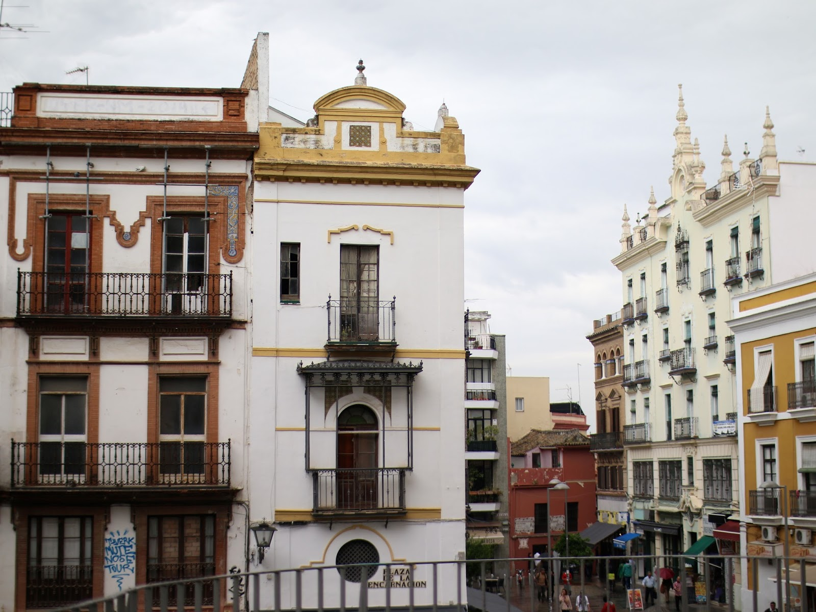 buildings in seville spain