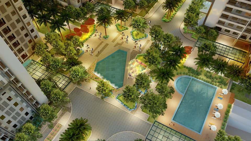 Quảng trường Sapphire dự án Goldmark City