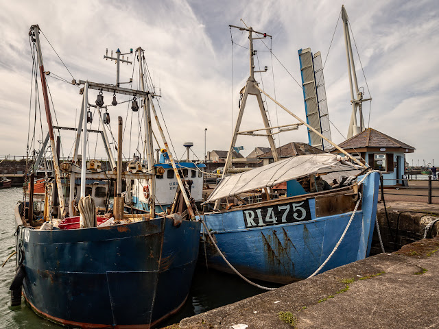 Photo of two more Maryport fishing boats