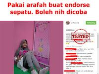 Endorsement, Endorse Artis Selebgram Teknik Salah Arti
