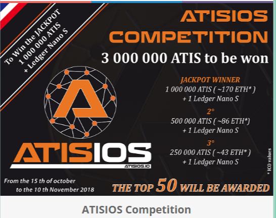 Atisios Airdrop - Estimated Worth $15