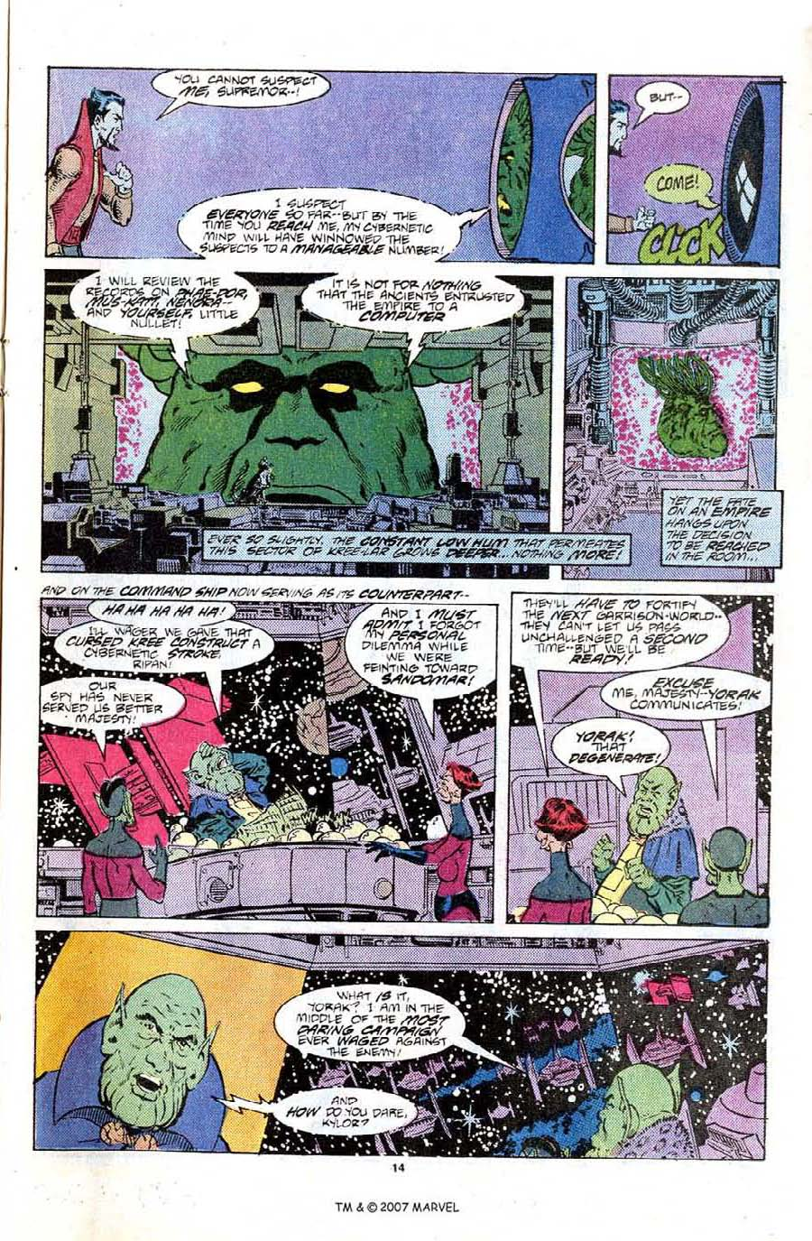 Read online Silver Surfer (1987) comic -  Issue #6 - 21