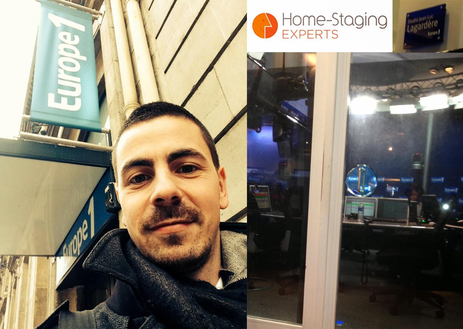 vendez plus vite votre bien home staging sur europe 1 les coulisses de mon interview. Black Bedroom Furniture Sets. Home Design Ideas