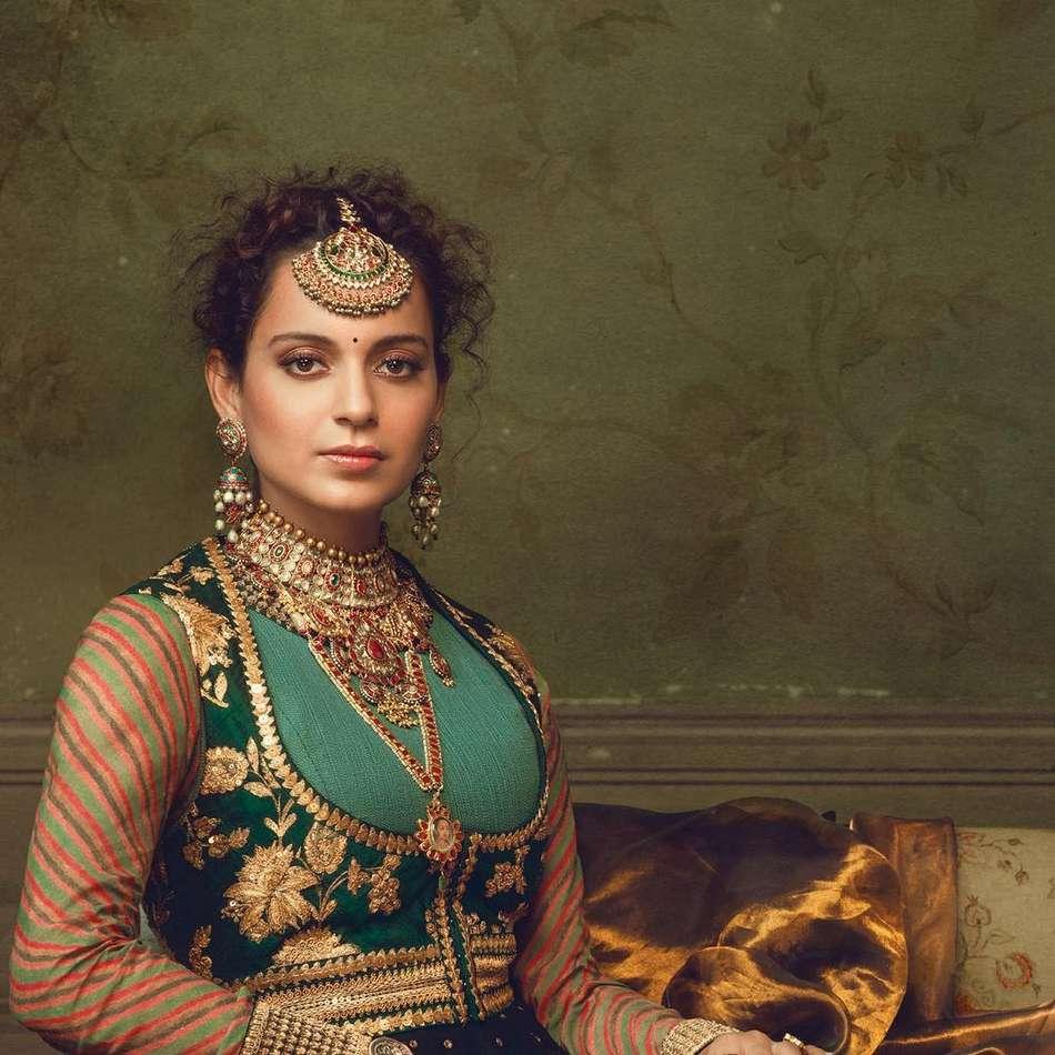 Kangana Ranaut Poses for Harper's Bazaar Bride Magazine September 2017