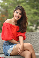 Rhea Chakraborty in Red Crop Top and Denim Shorts Spicy Pics ~  Exclusive 026.JPG