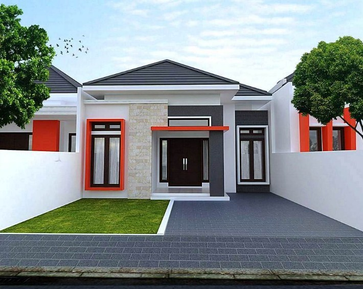 Desain Rumah Minimalis Yang Islami  contoh desain rumah minimalis sederhana beserta ukurannya