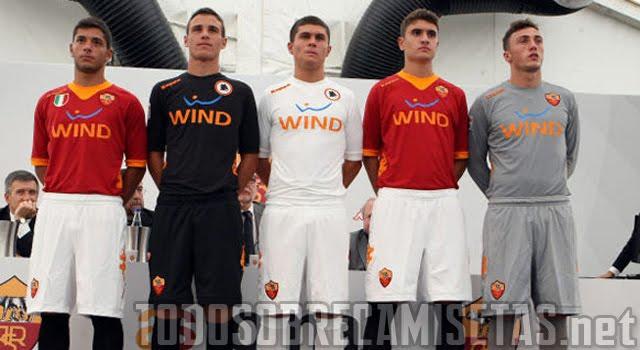 5baa37d396c8e canalfútbol Blog  Camiseta kappa de la AS Roma 2011 12