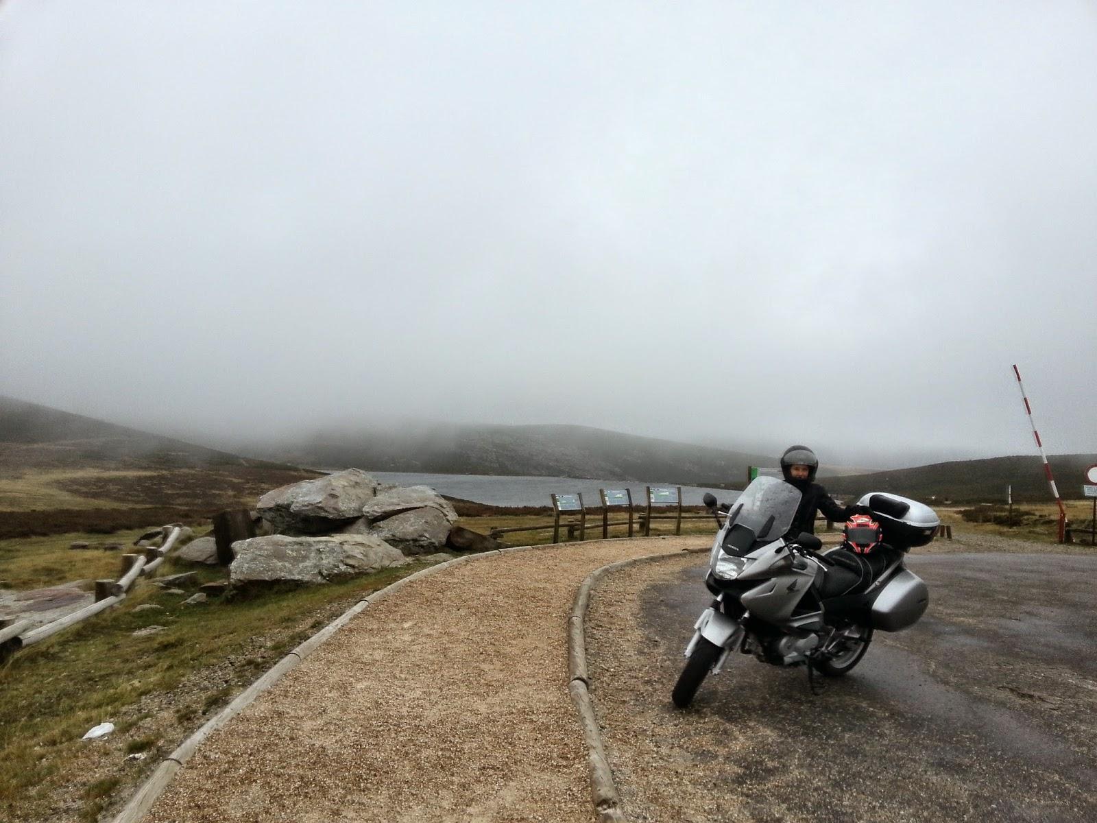 ruta en moto lago de Sanabria