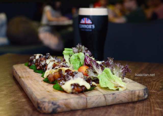 Caramelized CONNOR'S Pork Belly - RM30++ with 1 full pint of CONNOR'S Stout Porter