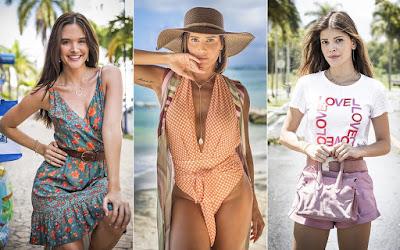 Luna, Alexia e Kyra, personagens de Juliana Paiva, Deborah Secco e Vitória Strada — Foto: João Miguel Junior/Globo