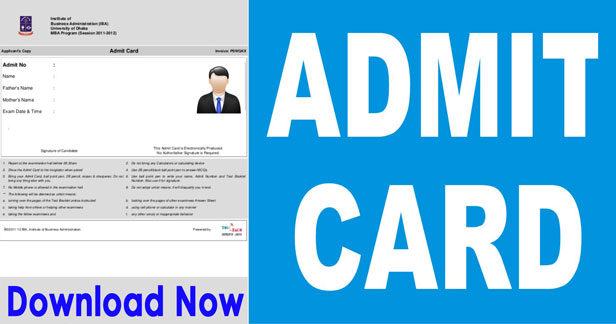IBPS CRP Specialist Officer Admit Card