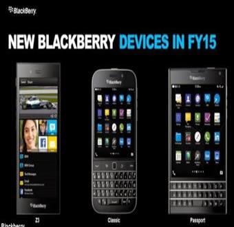 Nuevo Diseño del Telefono BlackBerry