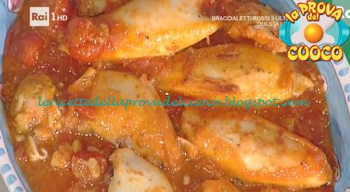 Calamari ripieni in guazzetto ricetta Moroni da Prova del Cuoco