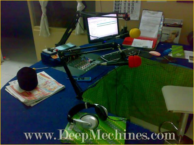 Radio Dirgahayu Barabai (RDB) FM 100.2MHz - Studio Siaran