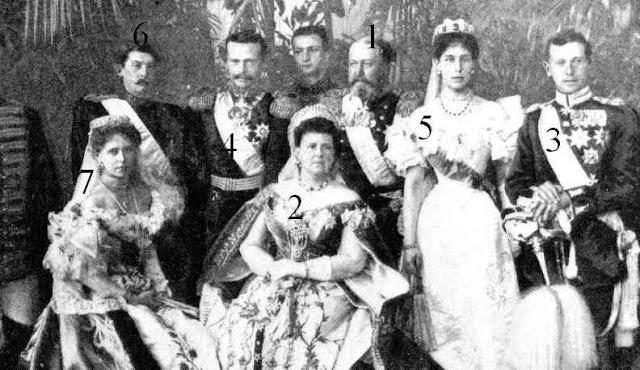 couronnement de Nicolas II: Saxe-Cobourg et Gotha, Hesse et Rhin: Roumanie