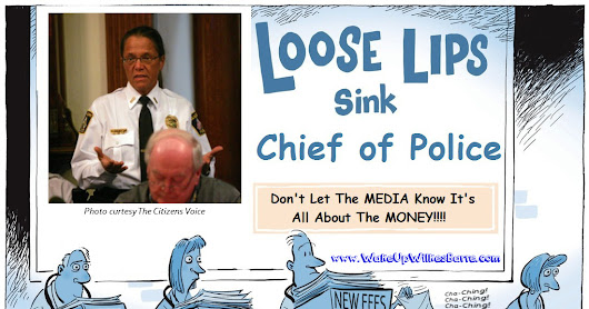 Loose Chief of Police, TROUBLE says Union!