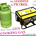 Say GOODBYE to PETROL and Start running you Generator on GAS