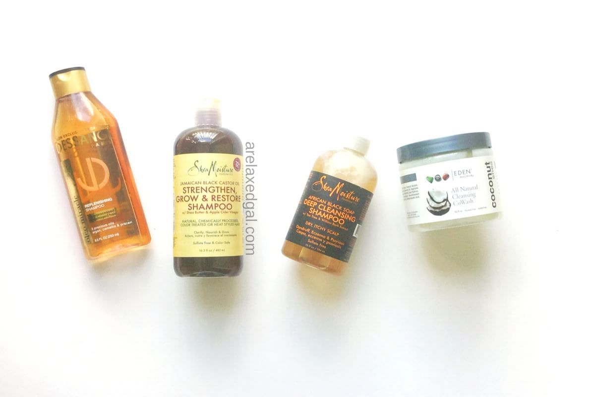 Healthy hair tip: The ingredients that make up a good shampoo | arelaxedgal.com