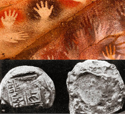 Photo: Examples of ancient biometrics