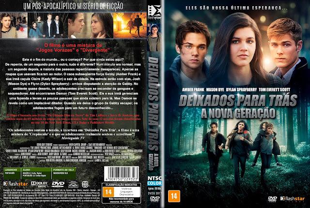 Capa DVD Deixados Para Trás: A Nova Geração [Custom]